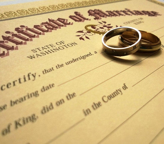 Fake Marriage and Divorce Certificate